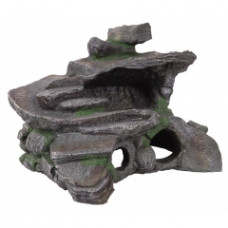 5602302 DEZZIE Аквадекор для черепах Остров, 29*25*20 см, пластик