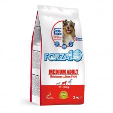 Forza10 Medium Cervo/Patate Maintenance Корм сух для собак средни пород с олениной и картофелем,2 кг