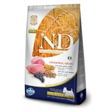 FARMINA N&D Корм низкозерн для щенков мелких пород,беремен., кормящих, с ягненком и черникой, 2,5 кг