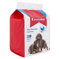 EVERYDAY Пеленки впитывающие ГЕЛЕВЫЕ для животных, 60*60 см