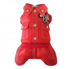 28329 Lim1610а Лимарджи Комбинезон ARMY, красный, размер S