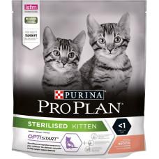 Про План Корм для стерилизованных котят с Лососем, 400 г