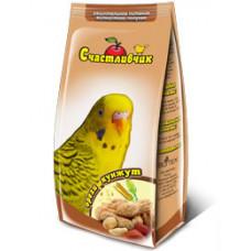 Счастливчик - корм для волнистых попугаев орех + кунжут 350 г