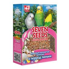 Special 7 семян Корм для волнистых попугаев в период линьки, 400 г