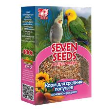 Special 7 семян Корм для средних попугаев Основной рацион,  400 г