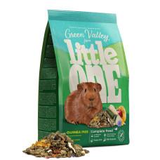 LITTLE ONE - Корм Зеленая долина из разнотравья для морских свинок 750 г