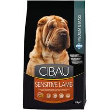 FARMINA Cibau Sensitive Lamb Сухой корм для взрос собак средних и крупных пород с ягненком, 2,5 кг