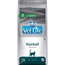 21717 Farmina Vet Life Cat Hairball Корм для кошек для выведения комочков шерсти, 400 г