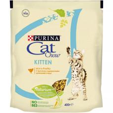 Кэт Чау Киттен Корм для котят с домашней птицей 400 г