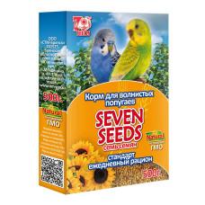 7 семян Корм для волнистых попугаев стандарт 500 г