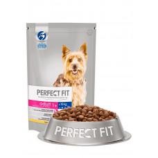 Перфект Фит Корм для взрослых собак мелких пород с курицей, 500 г