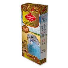 Родные корма Зерновые палочки для попугаев с орехами, арахисом, 2 шт*45 г