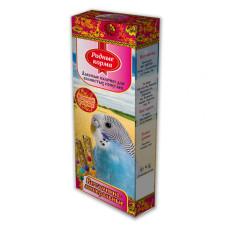 Родные корма Зерновые палочки для попугаев с витаминами и минералами  2 шт*45 г