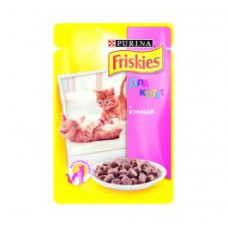 Фрискис для котят с курицей в подливе 100 г