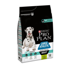 Про План для взрослых собак крупных пород атлетического телосложения с чувс пищев. с ягненком, 3 кг