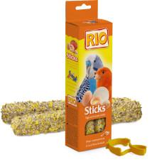 РИО - Палочки для всех видов птиц с яйцом и ракушечником, коробка 2*40 г