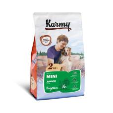 Karmy Мини Юниор Корм сухой для щенков мелких пород с Индейкой, 2 кг