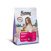 Karmy Корм для взрослых кошек, с Телятиной, 400 г