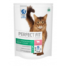 Перфект Фит для стерилизованных кошек с говядиной в соусе, 85 г