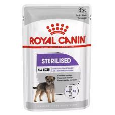 Роял Канин Sterilised Корм для стерилизованных собак, склонных к набору веса (паштет) 85 г
