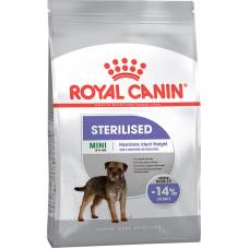 Роял Канин Корм Мини Стерилайз для стерилизованных собак мелких размеров, от 1 до 10 кг, 3 кг