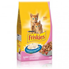Фрискис Корм для котят с курицей, молоком и овощами 2 кг