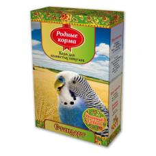 Родные корма Корм для волнистых попугаев Стандарт 500 г