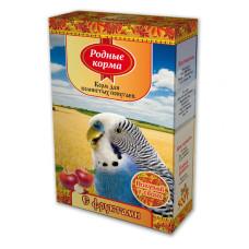 Родные корма Корм для волнистых попугаев с фруктами 500 г