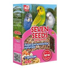 Special 7 семян Корм для волнистых попугаев с орехами 400 г
