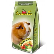 Счастливчик - корм для морских свинок фрукты овощи 300 г