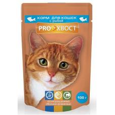 Proхвост Корм для кошек с рыбой  в соусе 85 г