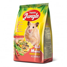 Happy Jungle Корм для хомячков, 400 г