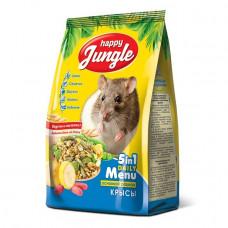 Happy Jungle Корм для декоративных крыс, 400 г