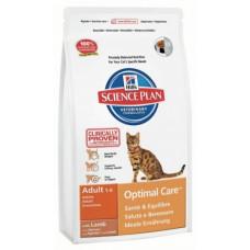 Hills Корм для взрослых кошек от 1 года до 6 лет с ягненком 400 г