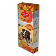 Родные корма Зерновые палочки для грызунов яично-медовая, 2 шт