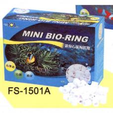 """AQUA-PRO Наполнитель керамический биологической очистки """"MINI BIO-RING"""" 400 г"""