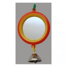 5011 Дарэлл Игрушка для птиц Зеркало с колокольчиком