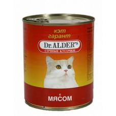 Др Алдерс Кэт Гарант Корм д/кошек Сочные кусочки в соусе с Говядиной, 415 г