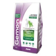 Gemon Dog Medium корм для взрослых собак средних пород с ягненком 3 кг