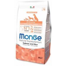 Monge Dog Speciality Puppy&Junior корм для щенков всех пород с лососем и рисом 800 г