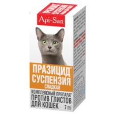 Празицид Суспензия Плюс для кошек 1 мл на 1 кг, 7 мл+ шприц-дозатор