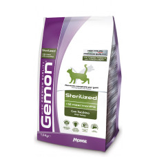 Gemon Cat Sterilised корм для стерилизованных кошек с индейкой 400 г