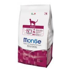 Monge Cat Indor корм для домашних кошек 1,5 кг