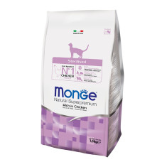 Monge Cat Sterilised корм для стерилизованных кошек 1,5 кг