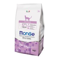Monge Cat Sterilised корм для стерилизованных кошек 1 кг (фасовка)