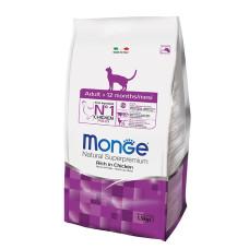 Monge Cat корм для взрослых кошек 400 г