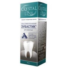 CRYSTAL LINE ЗУБАСТИК Гель стоматологический, 30 мл