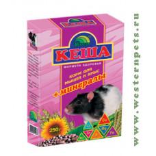 Кеша Зерносмесь для крыс и мышей (минералы) 500 г
