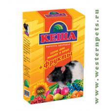Кеша Зерносмесь для крыс и мышей (фрукты) 500 г
