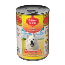 Родные корма Корм конс. для собак Теленок с рисом по-кубански 410 г